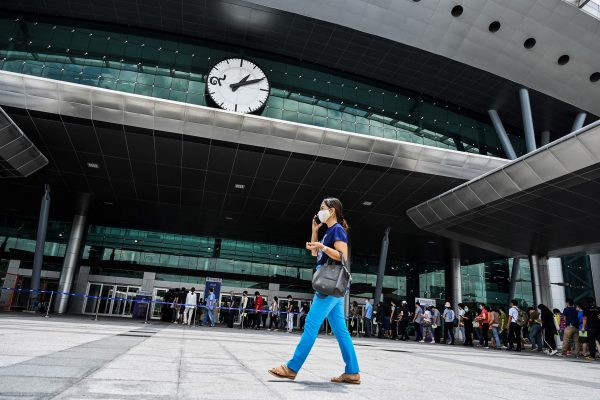 Walk-in vaccination at Bangkok's Bang Sue Grand Station to end on July 31st