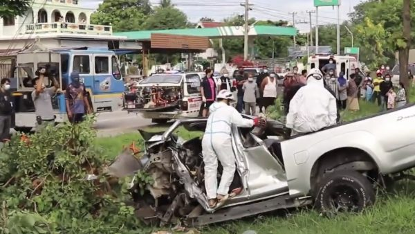 Two COVID-infected people on their way home for treatment killed in road accident