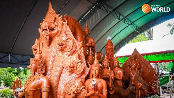 Thái Lan: Lễ hội nến của Ubon Ratchathani trở nên ảo diệu
