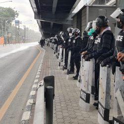 Thailand Protests, Lumpini Park, Bangkok