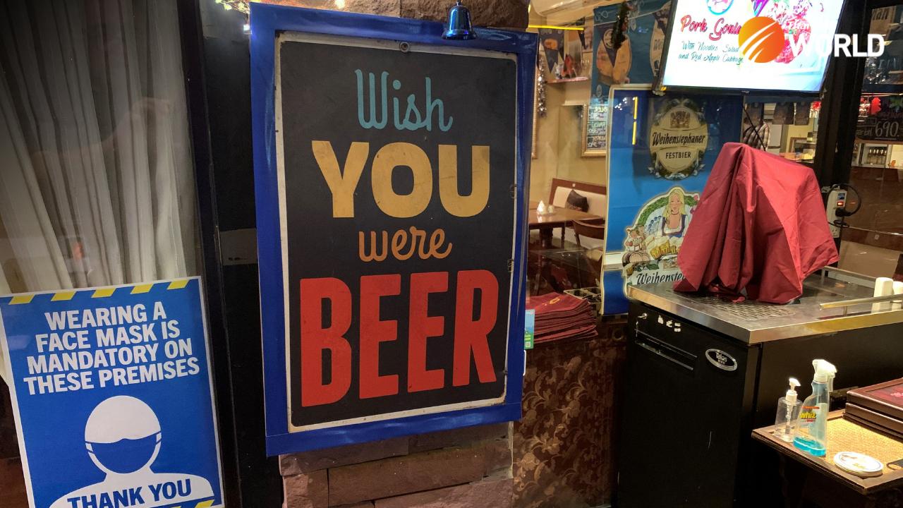 Beer tap bar Bangkok